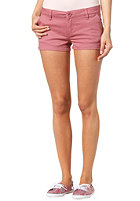 RVCA Womens Sugar Shakes Chino Shorts berry crush