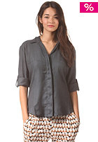 RVCA Womens Talons L/S Shirt dark slate