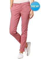 RVCA Womens Unwind Chino Pant berry crush