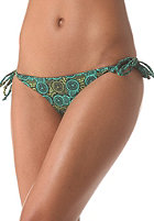RVCA Womens Vervet Bikini Pant seagreen print