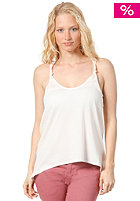 RVCA Womens White Shadow Top vintage white