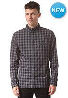RVLT Pattern L/S Shirt grey