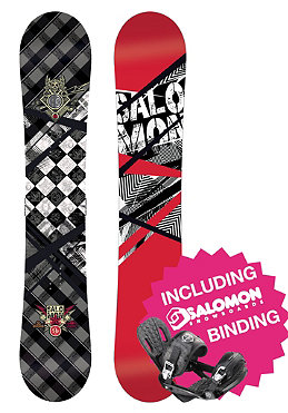 SALOMON Ace Wide 2012 155cm + Patriot black