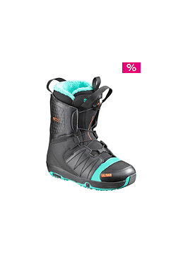 SALOMON  black/mint/black