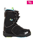 SALOMON F20 2012 black/score blue/pop green