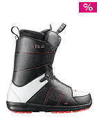 Faction Boot black/white/racing red