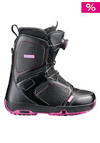 Pearl Boa Boot black/fancy pink/black