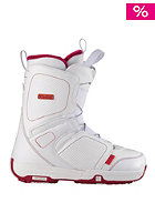 SALOMON Pearl white/Light Rubis Red/White