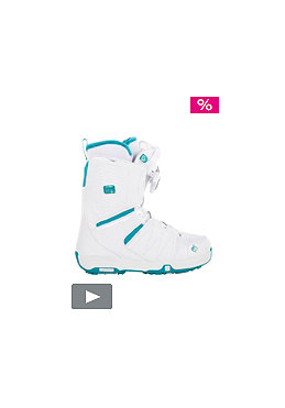 SALOMON Womens white/bay blue/white