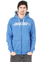 SANTA CRUZ Capital Hooded Zip Sweat deep blue