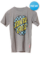 SANTA CRUZ Check Dot L/S T-Shirt dark heather