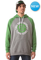 SANTA CRUZ Circulate Hooded Sweat mint green/dark heather