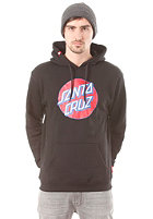 SANTA CRUZ Dot Hooded Sweat black