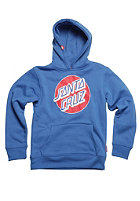 SANTA CRUZ Dot Hooded Sweat deep blue