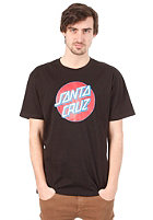 SANTA CRUZ Dot S/S T-Shirt black