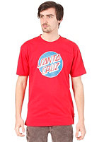 SANTA CRUZ Dot S/S T-Shirt rich red