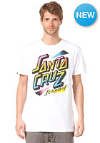 SANTA CRUZ Eighties Strip S/S T-Shirt white