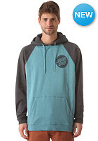 SANTA CRUZ Fremont Hooded Sweat charcoal heather/aqua