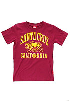 SANTA CRUZ Kids Cruz Bear S/S T-Shirt wine
