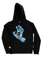 SANTA CRUZ Kids Screaming Hand Hooded Sweat black