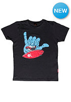 SANTA CRUZ Kids Screaming Shaka S/S T-Shirt black