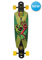 Longboard Rasta Hand JA. Drop Thru 9.60 multicolor