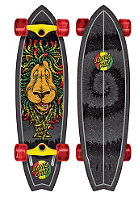 SANTA CRUZ Longboard Rasta Lion Shark 10.0 one colour