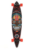 SANTA CRUZ Longboard Sugar Scull Pintail 9.90 black/red