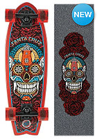 SANTA CRUZ Longboard Sugar Skull Shark 8.8 one color