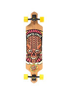 SANTA CRUZ Longboard Tiki Skull Bamboo 9.00 one colour