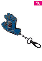 SANTA CRUZ Screaming Hand Keychain gunmetal