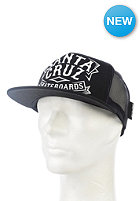 SANTA CRUZ SCS Trucker Cap black