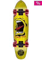 SANTA CRUZ Sidewalk Screamer Longboard 6.50 yellow