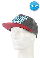 SANTA CRUZ Strip Stack Cap sky/vintage black