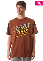 SANTA CRUZ Sundown S/S T-Shirt caramel
