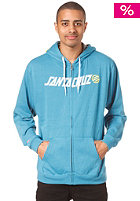 SANTA CRUZ Up Capital Hooded Zip Jacket bluewater