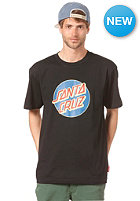 SANTA CRUZ Vintage Dot S/S T-Shirt black