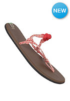 SANUK Rasta Knotty red/cream