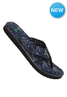 SANUK Roots Cozy Blue Palms