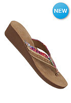 SANUK Womens Fraidy Wedge fuchsia