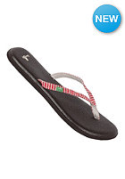 SANUK Yoga Spree Funk red stripes