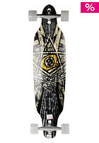 9 Star (9.5 X 39.0) Longboard yellow