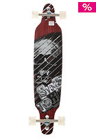 SECTOR 9 Carbonite Longboard red