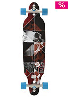 SECTOR 9 DBL Platin Carbon Decay Longboard red