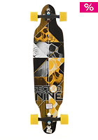 SECTOR 9 DBL Platin Carbon Decay Longboard yellow