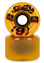 SECTOR 9 Nine Balls 65mm P4 Wheels yellow