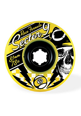 SECTOR 9 Race Formula 81mm gelb