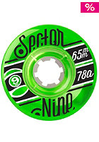 SECTOR 9 Wheels TS 65Mm 78A CS green