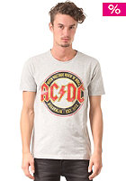 SELECTED AC/DC S/S T-Shirt light grey melange
