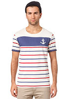 SELECTED Anchor O-Neck S/S T-Shirt egret